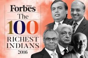 100 richest people in India